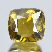 GIA Certified 1.73Cts 100% Natural Alexandrite Brownish Yellow Green Changing To Brownish Yellow