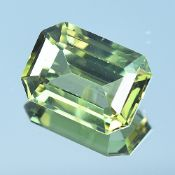 GIA Certified 2.57Cts 100% Natural Alexandrite Yellowish Green Changing To Brownish Yellow Colour