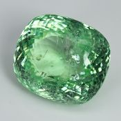 GIA Certified Huge Paraiba 16.20Cts 1005 Natural Yellowish Green Colour Paraiba Tourmaline