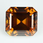 IGI Certified 1.26Cts Natural Deep Reddish Orange Brown Diamond