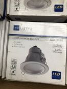 4X BG ELECTRICAL 4.5W LED DOWNLIGHTERS INC DRIVERS
