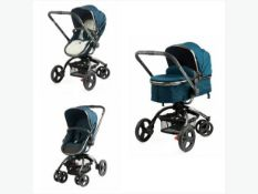 Mothercare orb all-terrain green baby pushchair ex-display rrp £299.99