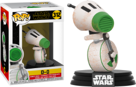 Pop star wars d-o 312 x 4 rrp £100