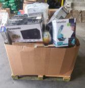 (Customer Returns) Panasonic Nivea Motorola Breville Fisher Price - 40 Items - RRP £1035 - P102