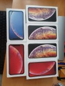 6 x new iphone xr, xs max empty boxes rrp £90