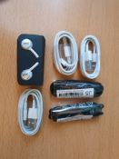 new mix items akg samsung earphones iphone chargers etc