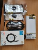 new mix items proda power bank, joyroom fast charging cable etc rrp£90