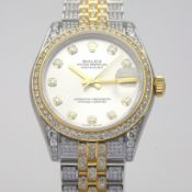 Rolex / Oyster Perpetual Datejust - Lady's Gold/Steel Wrist Watch