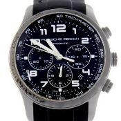 Porsche Design / Dashboard chronograph - Gentlemen's Titanium Wrist Watch