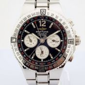 Breitling / A39363 - Gentlemen's Steel Wrist Watch