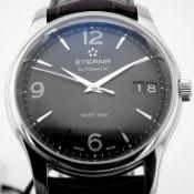 Eterna / Vaughan Big Date (Brand New) - Gentlemen's Steel Wrist Watch
