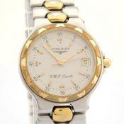 Longines / Conquest VHP - Unisex Gold/Steel Wrist Watch