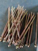 20 packs 125mm hex deck screws