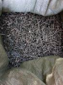 25kg - 30mm galv twist nails