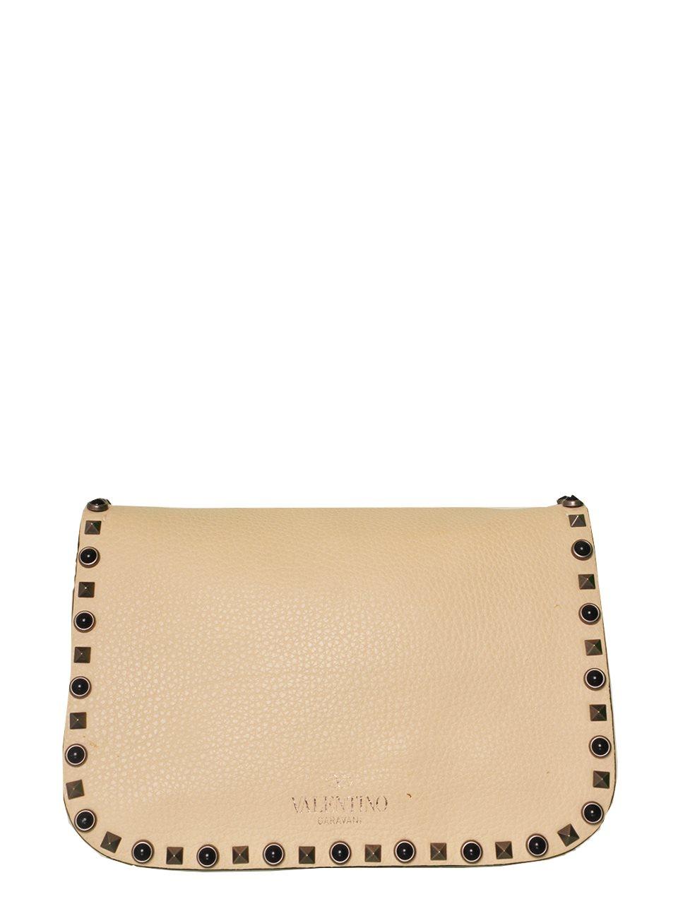 Valentino - Rockstud Butterfly Strap Leather Shoulder Bag - Image 2 of 6
