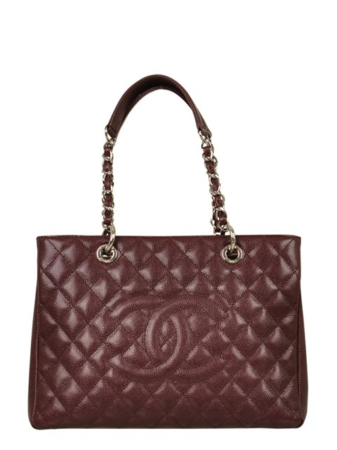 Chanel - Quilted Caviar Leather Grand Shopper Shoulder Bag - Image 6 of 8