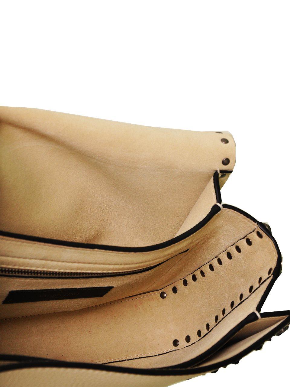 Valentino - Rockstud Butterfly Strap Leather Shoulder Bag - Image 6 of 6