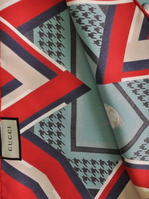 Gucci - Silk Twill Scarf - Image 3 of 4