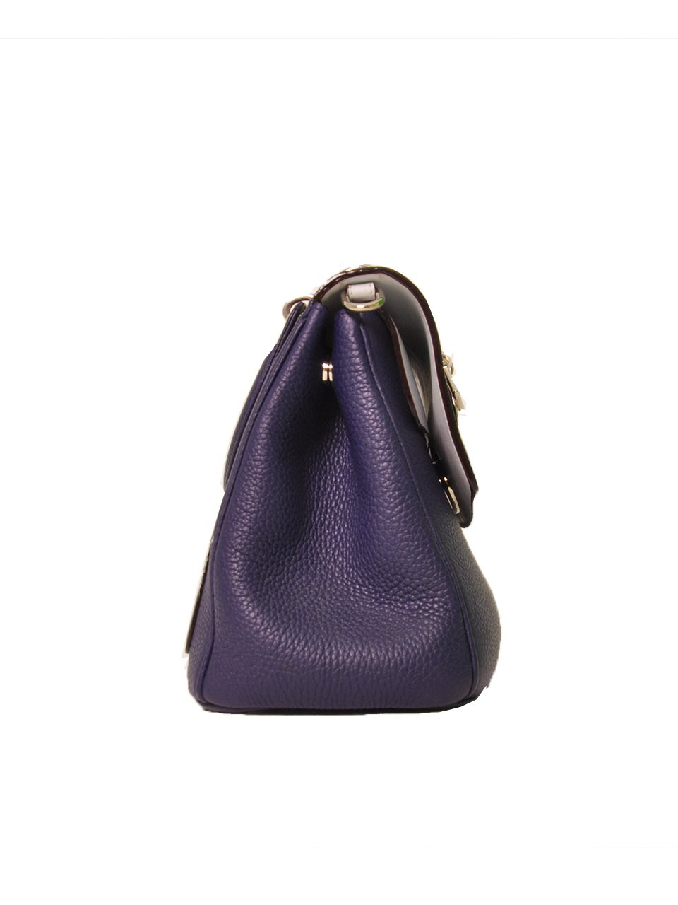 Christian Dior - Diorissimo Flap Medium Leather Hand Bag - Image 2 of 4