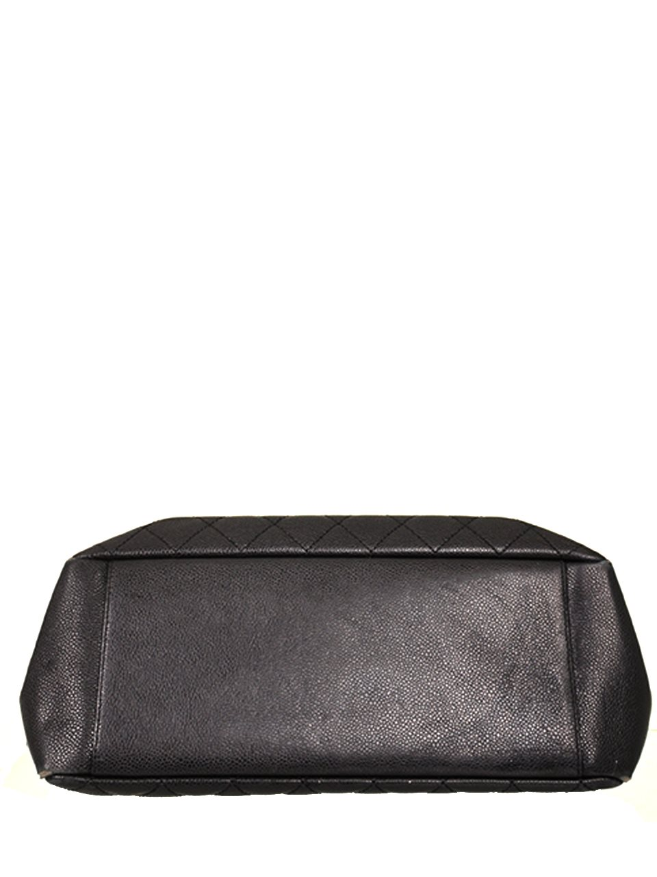 Chanel - Quilted Caviar Leather Grand Shopper Shoulder Bag - Image 3 of 4