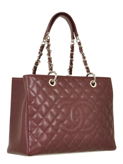 Chanel - Quilted Caviar Leather Grand Shopper Shoulder Bag - Image 5 of 8