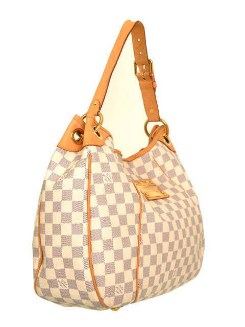 Louis Vuitton - Damier Azur Galliera PM Shoulder Bag - Image 4 of 8