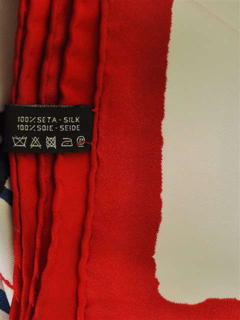Chanel - Silk Twill Scarf - Image 4 of 5