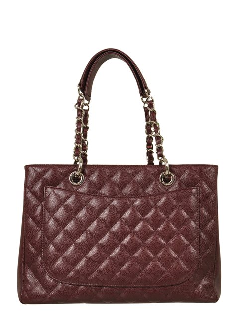 Chanel - Quilted Caviar Leather Grand Shopper Shoulder Bag - Image 7 of 8