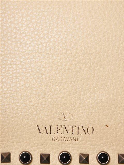 Valentino - Rockstud Butterfly Strap Leather Shoulder Bag - Image 5 of 6