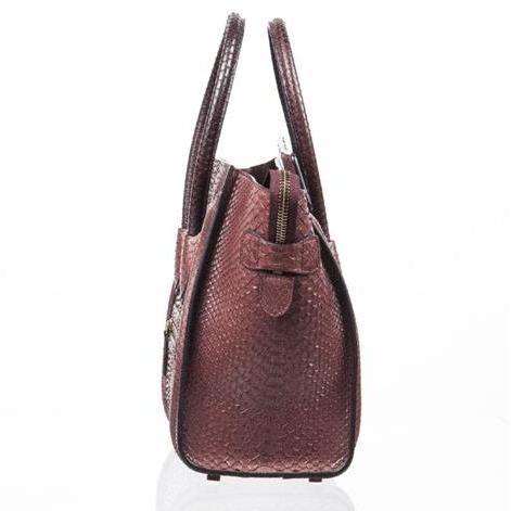Celine - Mini Luggage Piton Bag - Image 2 of 8