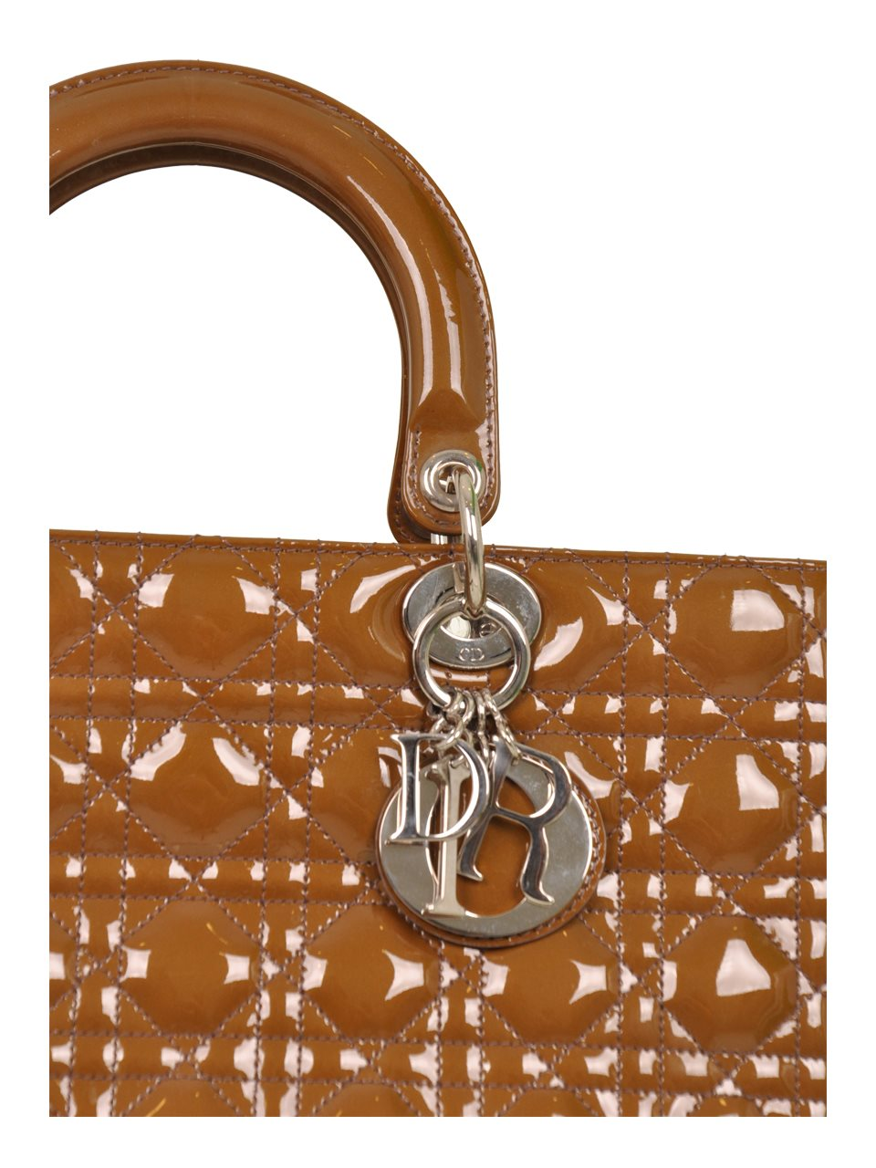 Christian Dior - Lady Dior Large Rugan - Image 5 of 7