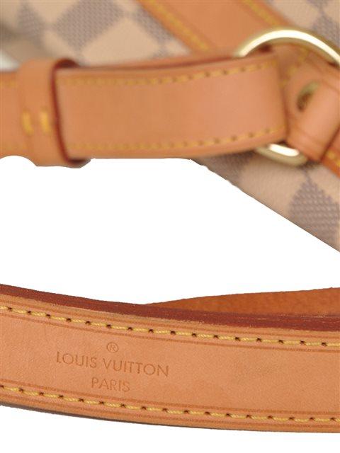 Louis Vuitton - Damier Azur Noe Bucket Leather Shoulder Bag - Image 5 of 8