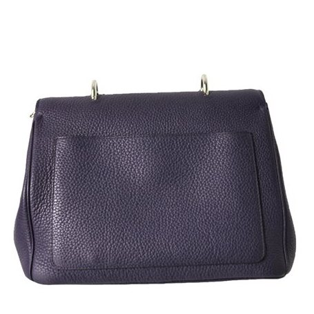 Christian Dior - Diorissimo Flap Medium Leather Hand Bag - Image 3 of 4