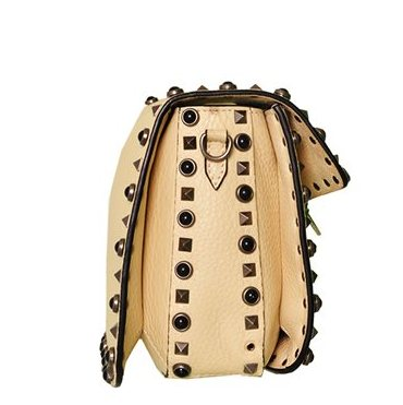 Valentino - Rockstud Butterfly Strap Leather Shoulder Bag - Image 4 of 6