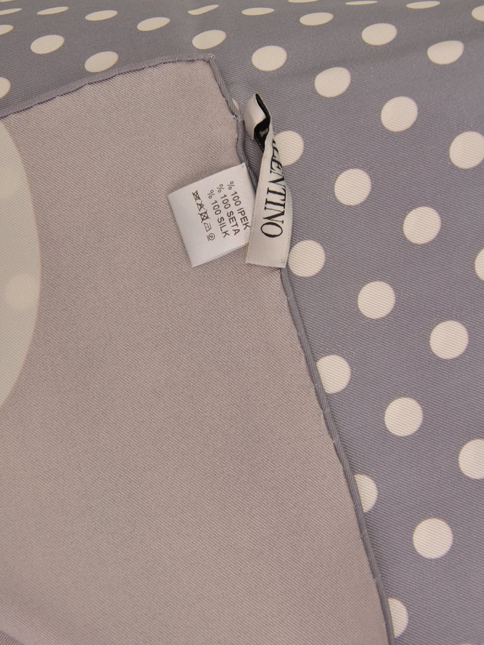 Valentino - Silk Twill Scarf - Image 2 of 3