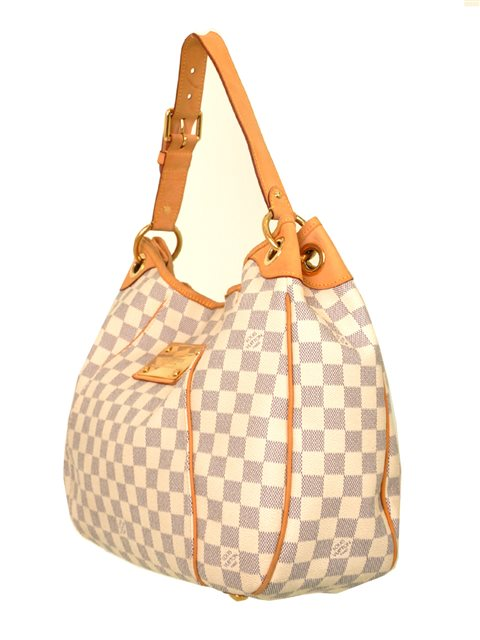 Louis Vuitton - Damier Azur Galliera PM Shoulder Bag - Image 7 of 8
