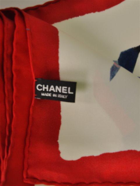 Chanel - Silk Twill Scarf - Image 2 of 5