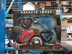 5 X Sharper Image Two Player Set Electronic Space Laser Tag