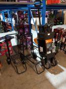 3 Items Ð 1 X Ozark Trail Folding Wagon & 2 X Foldable Trolly
