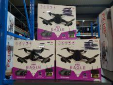3 X Red5 Fpv Eagle Drone