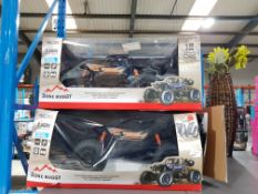 2 X Red5 RC 4 Wheel Drive Dune Buggy