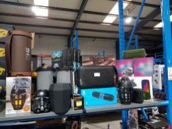 15 X Mixed Wireless / Bluetooth Speakers To Inc Idance Cyclone 400, He Lantern, Stormtrooper, Swipe