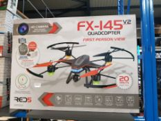 2 X Red5 Fx-145 V2 Quad-Copter Fpv
