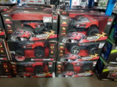 6 X Red5 High Speed RC Racing Truck