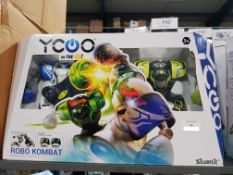 3 X Ycoo On The Go! Robo Kombat