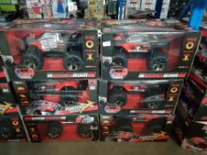 6 X Red5 RC High Speed Racing Truck