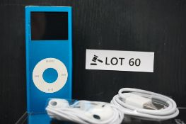 RRP £189.99 Apple iPod Nano 2nd Generation 4gb Blue