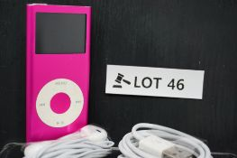 RRP £189.99 Apple iPod Nano 2nd Generation 4gb Pink