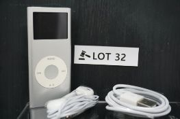 RRP £159.99 Apple iPod Nano 2nd Generation 2gb Silver