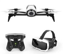 Parrot Bebop 2 FPV Drone Kit With Parrot Cockpit Glasses With Parrot Sky Controller 2 (RRP £50...